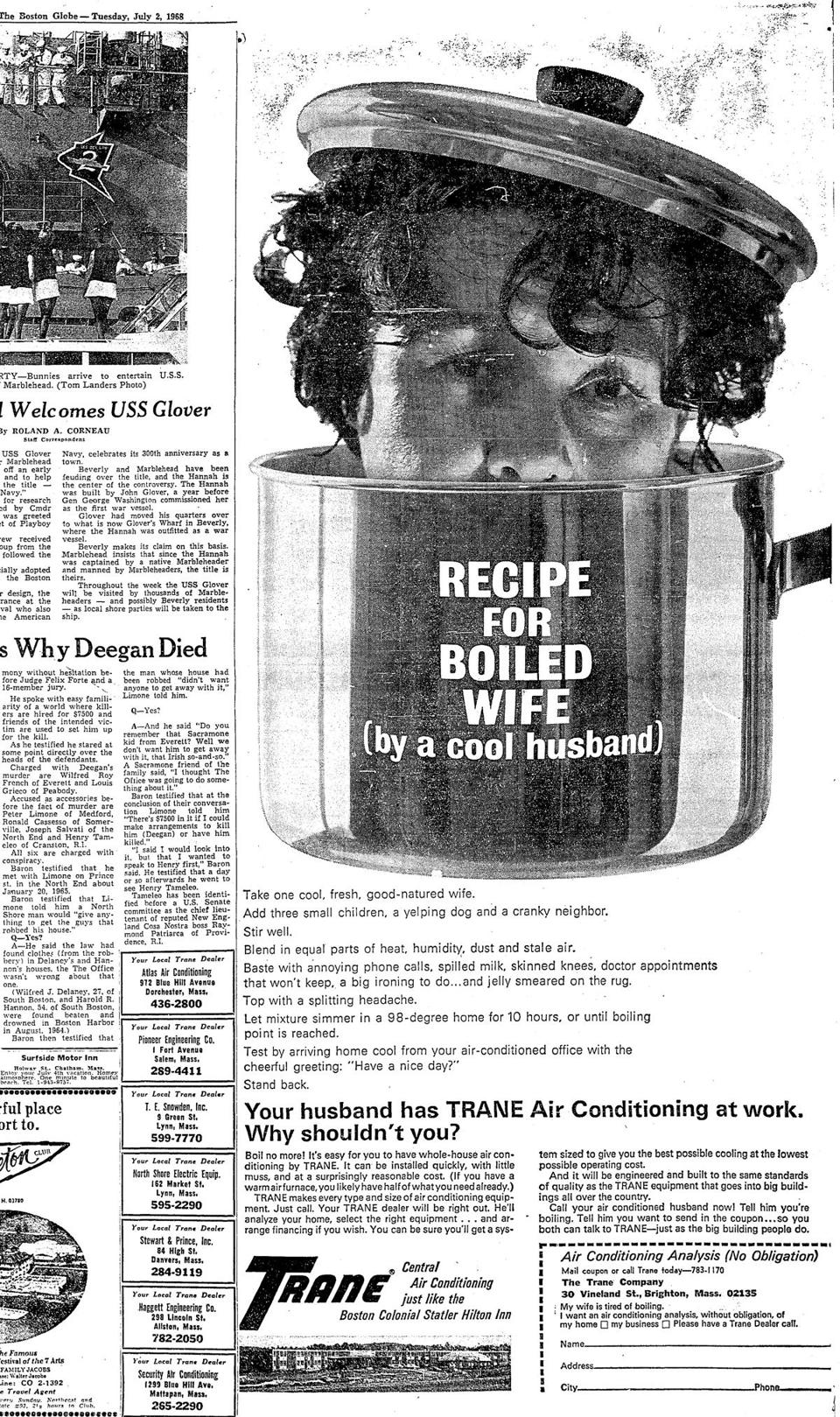 photos: boston globe ads from the 1930s-'60s (photo 3 of 27