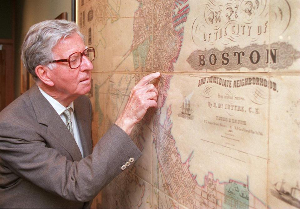 Long curious about maps, Norman B. Leventhal endowed the Boston Public Library map center with $10 million.