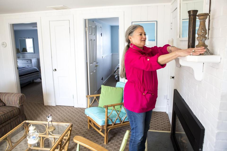 Linda Auerbach, co-owner of a two-unit duplex in Centerville, has already rented one of her units for this entire summer — and the second unit will be completely booked soon.
