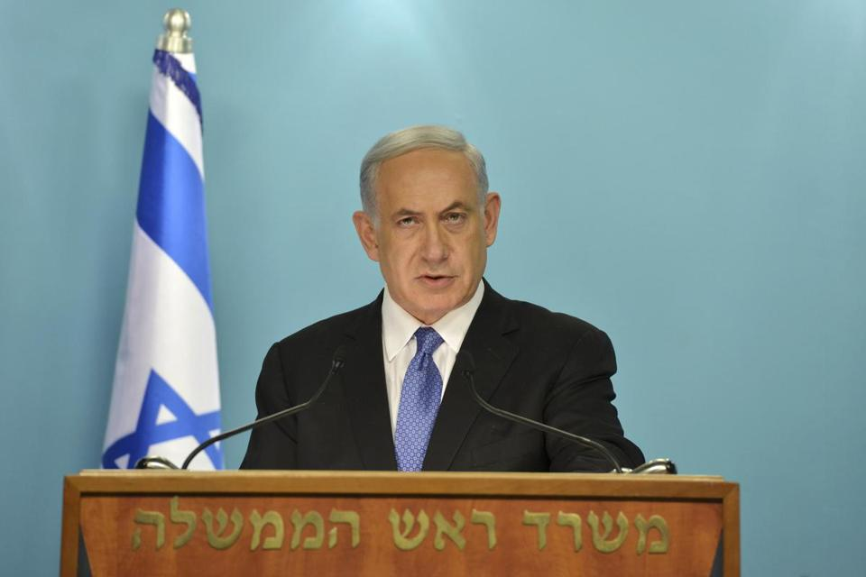 Israeli Prime Minister Benjamin Netanyahu said he and his Cabinet oppose the framework of the Iran deal.