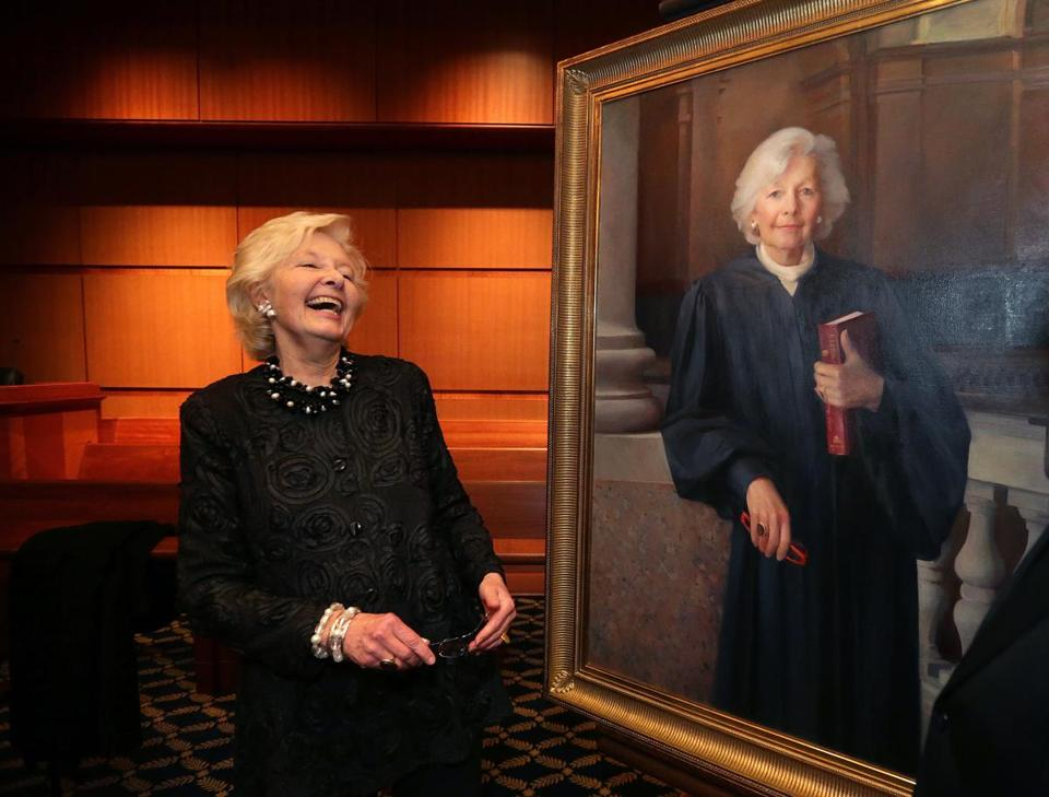 Former Mass. chief justice Margaret Marshall is celebrated at ...