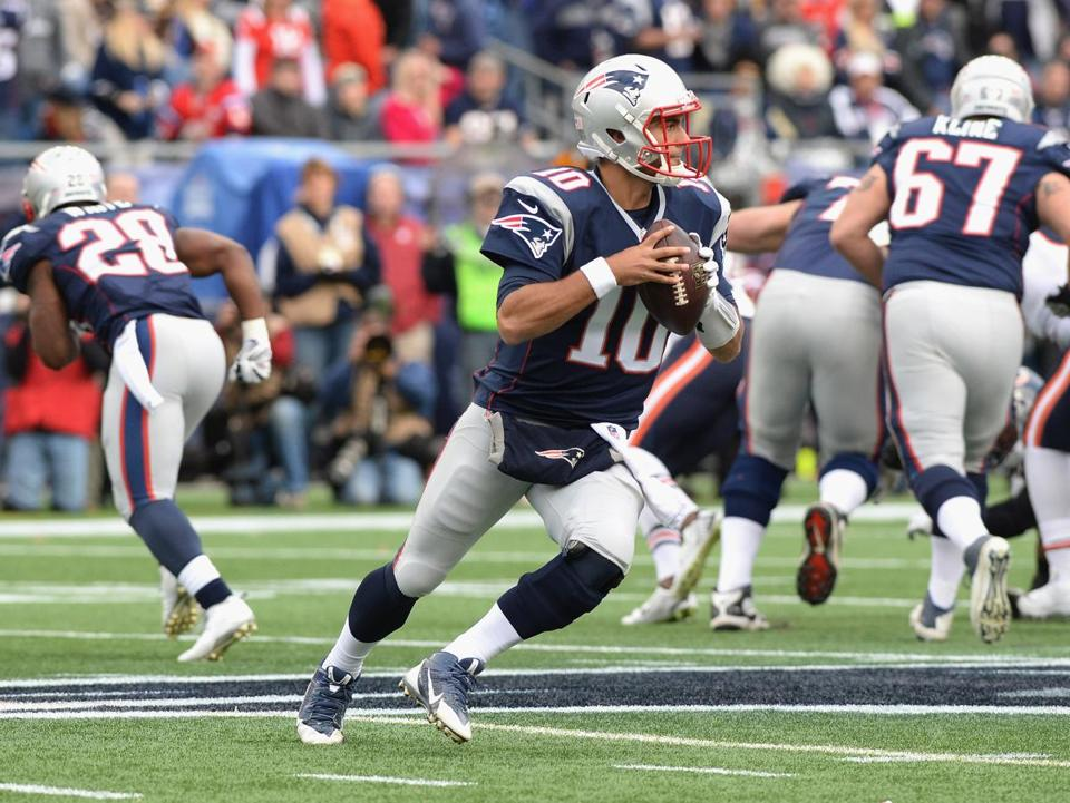 346377c2d Jimmy Garoppolo s parents said that the Patriots worked him so hard in his  pre-draft