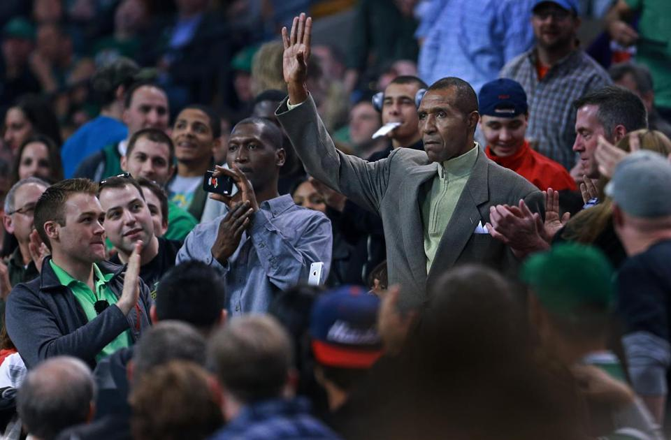 Jo Jo White retired 34 years ago. He was introduced to the TD Garden crowd during a playoff game in April.