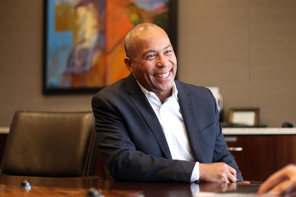 Former Governor Deval Patrick, a Democrat, is joining Bain Capital — an investment firm founded by his predecessor on Beacon Hill, Republican Mitt Romney.