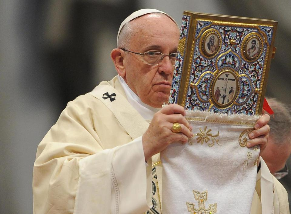 "Pope Francis led the Mass for the centenary of the Armenian ""martyrdom"" at Saint Peter's Basilica Sunday."
