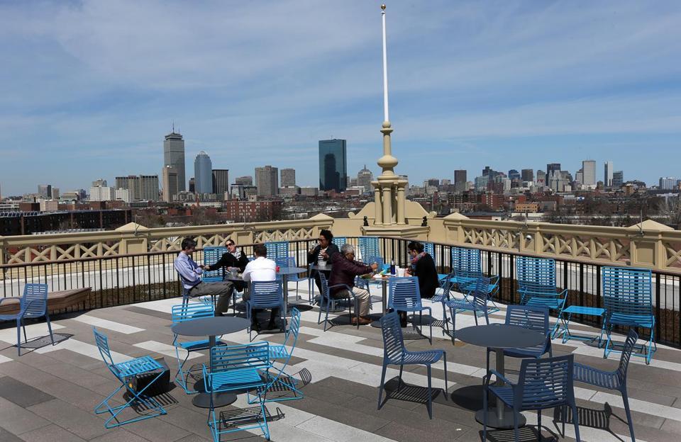 Boston Public School System Moves Into Sleek New