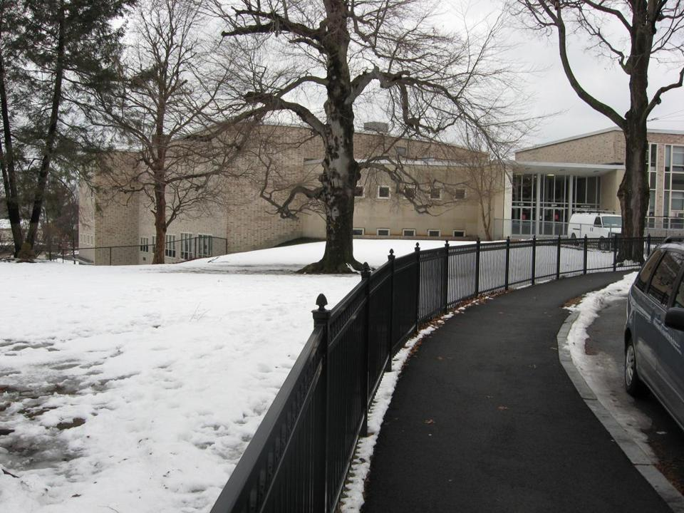 The former Aquinas College site.