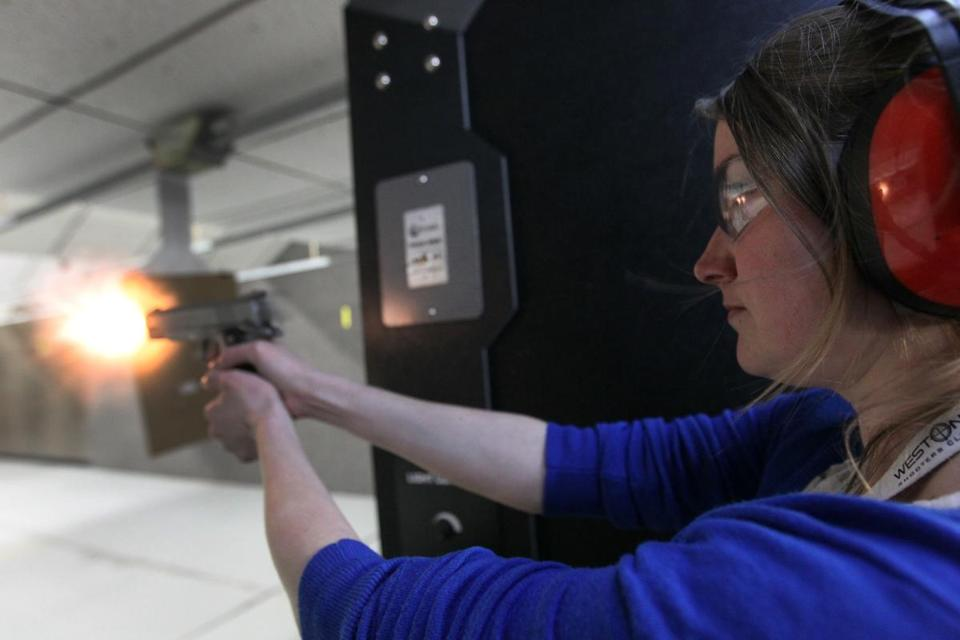 as gun laws tightened in mass   number of permits spiked