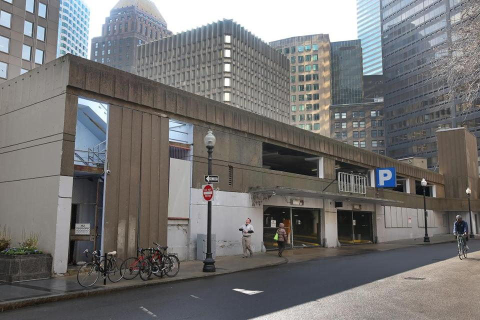 The Winthrop Square garage.