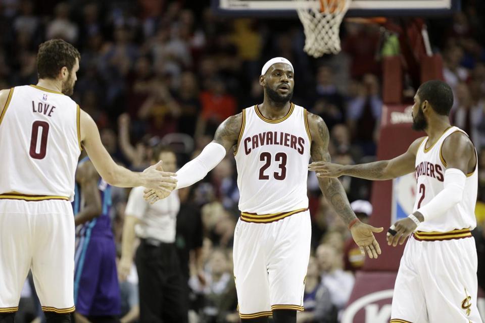c1ba47ea7a6 The Cavaliers  Big Three of LeBron James (23)