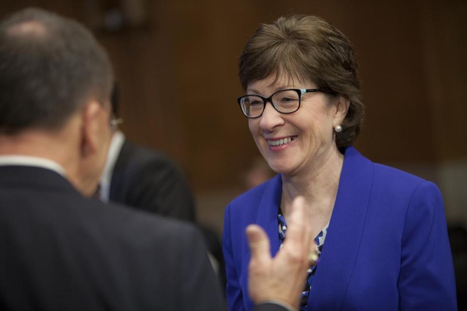 Maine Senator Susan Collins occupies moderate role in a ...