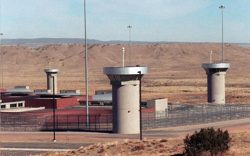 The Supermax prison facility in Florence, Colo.