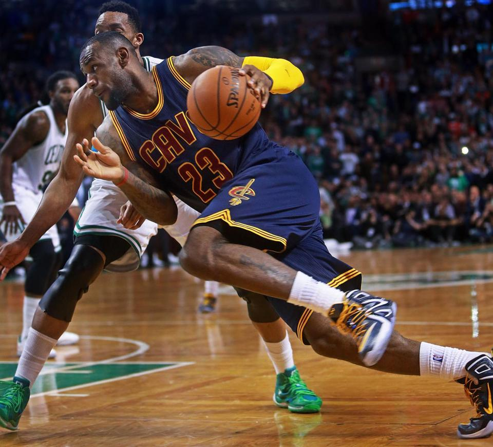 LeBron James embraced challenge of playing at TD Garden - The Boston ...