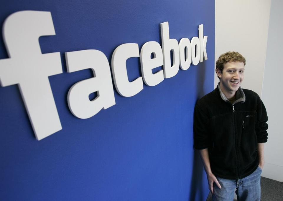 Facebook founder Mark Zuckerberg in 2007.