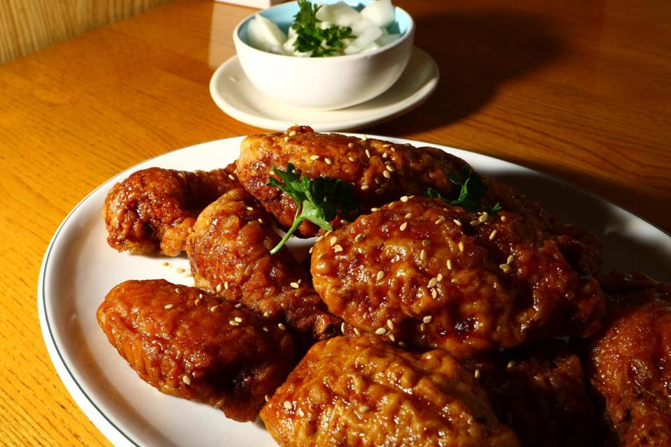 A new favorite at Tom Can Cook: Korean fried chicken.