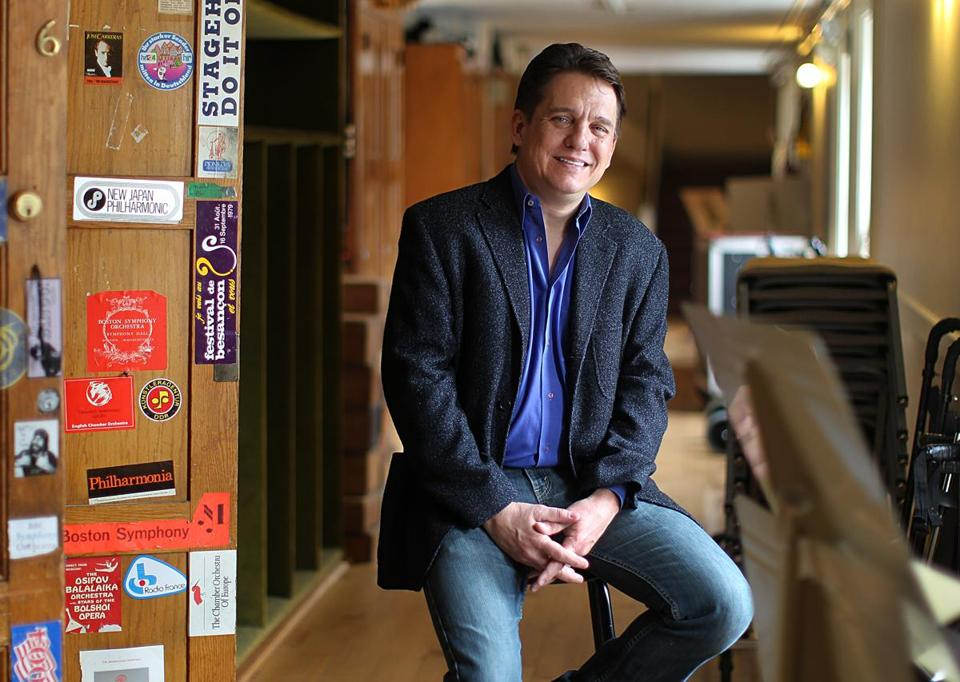 Keith Lockhart says he finds it easy to talk to audiences about music.