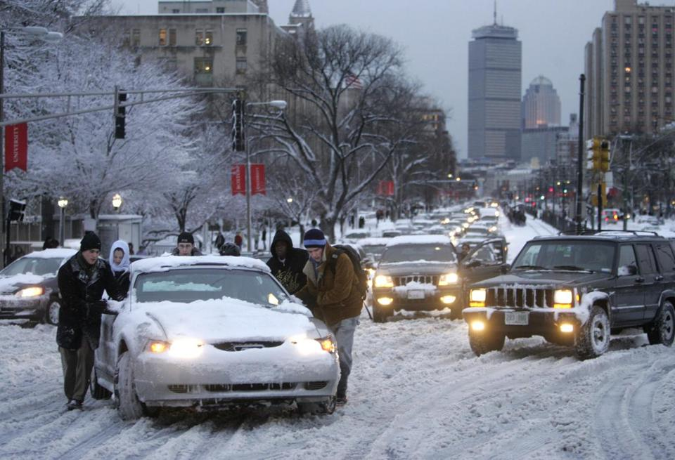 A harsh, snowy, and slippery winter is contributing to the rise in car insurance premiums for many Massachusetts drivers.