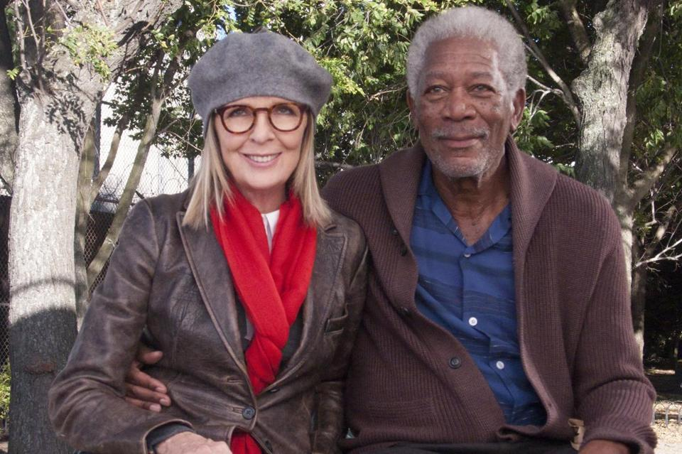 Diane Keaton And Morgan Freeman Star In The Comedy 5 Flights Up