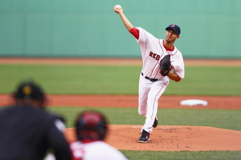 Rick Porcello is 3-2 with a 4.38 ERA.