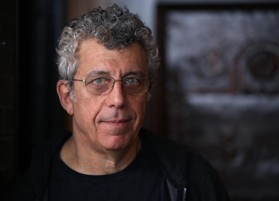 Eric Bogosian during a recent visit to Watertown, his first home town.