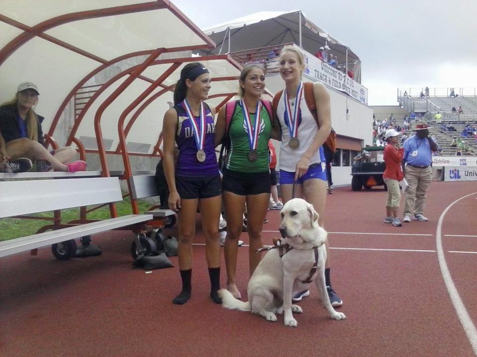 Blind high school pole vaulter wins medal - The Boston Globe