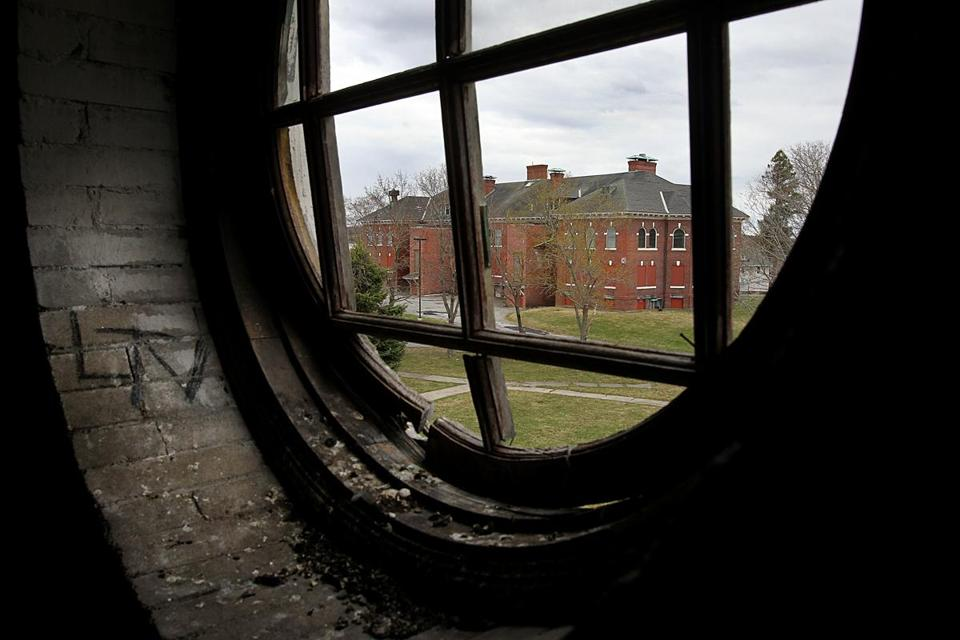 Westborough State Hospital, formerly known as the Westborough Insane Hospital.