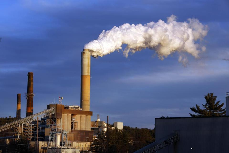 Steam billowed from the coal-fired Merrimack Station in Bow, N.H. President Trump is ready to dismantle an order by his predecessor that discourages coal-driven power plants.