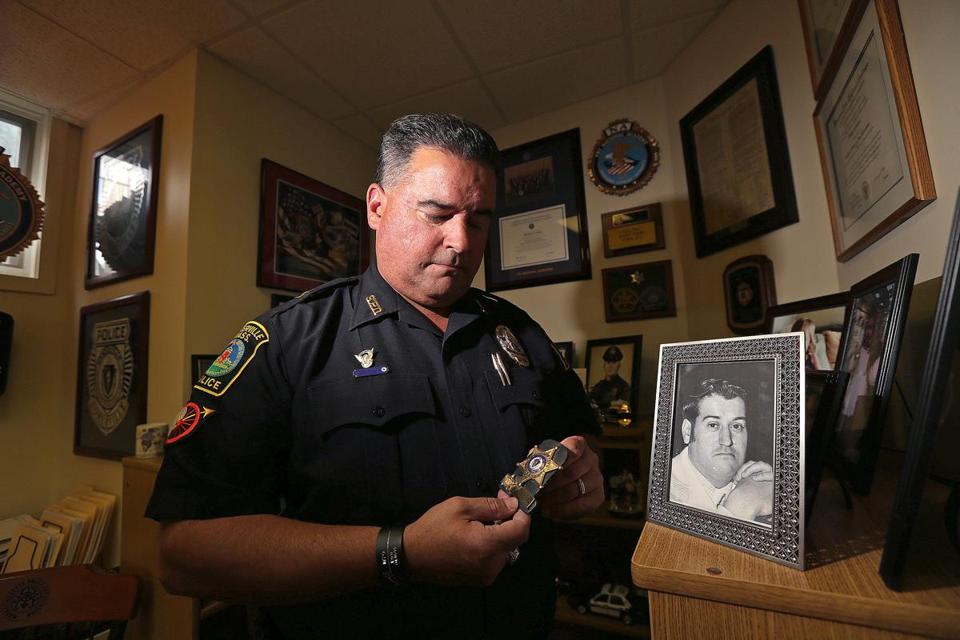 Somerville Police Captain Mike Cabral's father, Joe Cabral, committed suicide.