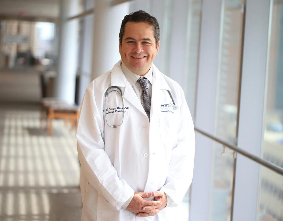 Dr. Alcy Torres grew up in Ecuador in a family of doctors, learning that doctors need to help people.