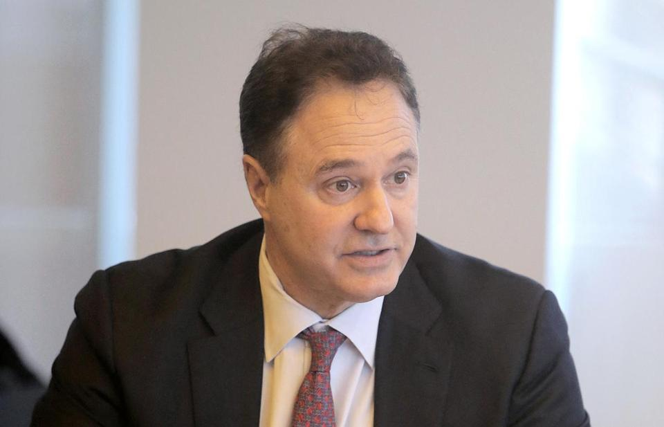 Steve Pagliuca, co-owner of the Boston Celtics and co-chair of the Boston 2024 fundraising and finance committee.