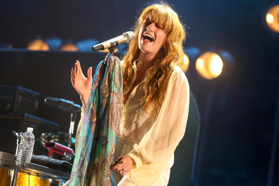 Florence Welch performed at the Coachella Music and Arts Festival on April 19 in Indio, Calif.