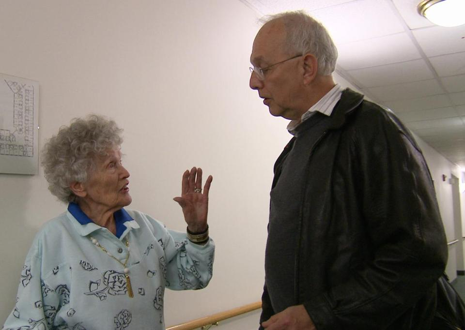 Filmmaker Gerald Peary talks with Betty Tokar Jankovich, one of the possible inspirations for the Betty character in the Archie Comics, created by Bob Montana (below).