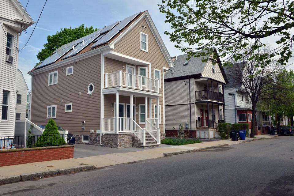 In Somerville, the number of single-family homes for sale fell 40 percent.