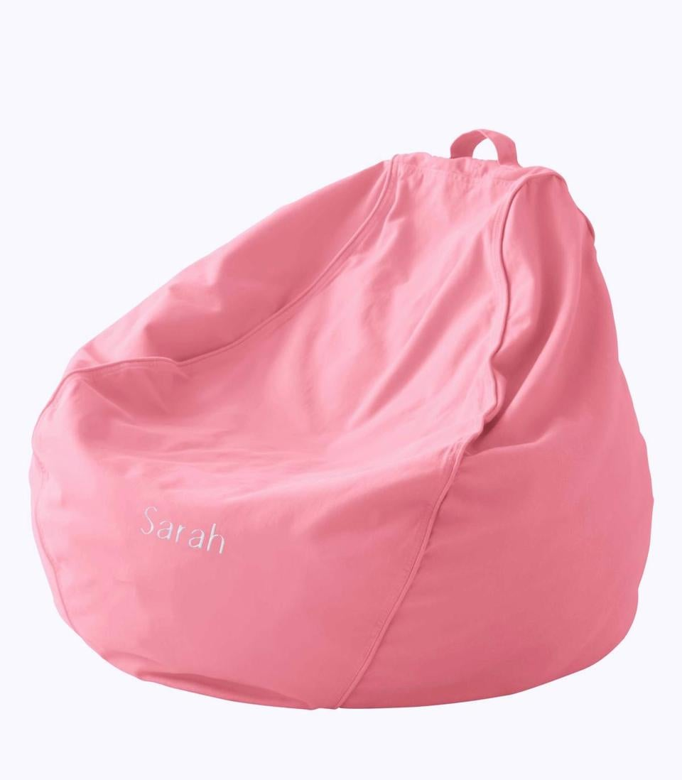 Monogrammed Beanbag Cover 3599 Online At Lands End