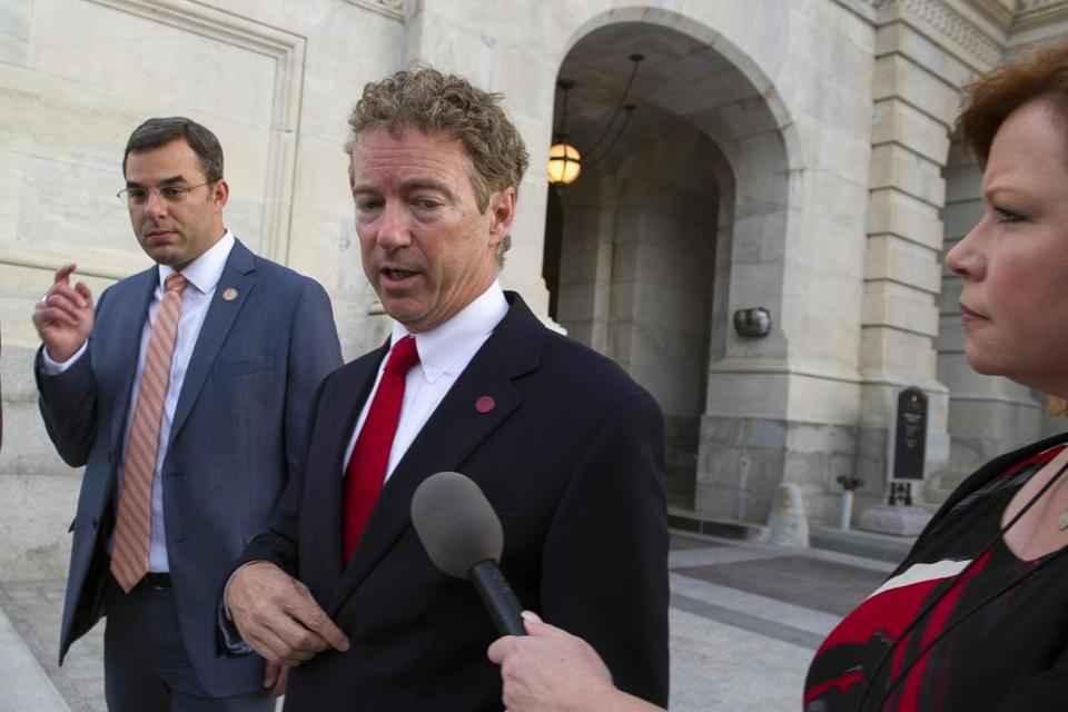 Senator Rand Paul's actions angered fellow Republicans.