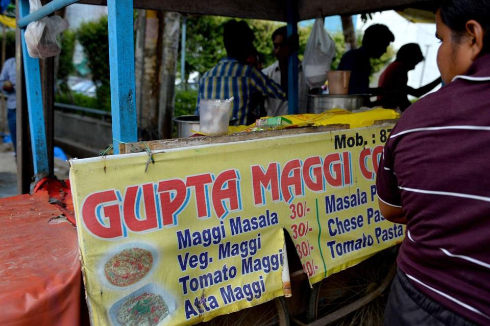 comparative study of noodles brand in india Lead contamination in nestlé's maggi brand instant noodles made headlines in india, with some 7 times the allowed limit.