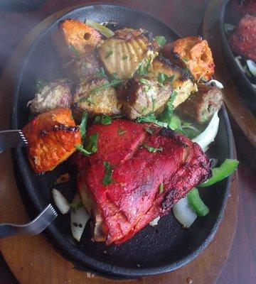A Mixed Grill Plate At Weymouthu0027s Fishtail Kitchen, Which Serves Indian And  Nepalese Cuisine.