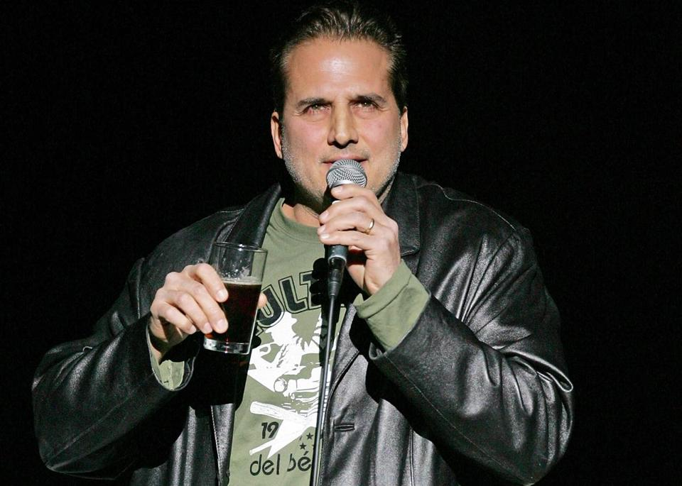 Comedian Nick Di Paolo, shown performing in Las Vegas in 2008.