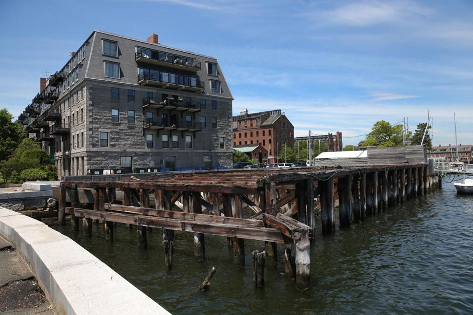 Lewis Wharf Is Now Mostly A Parking Lot But Proposal To Redevelop The Site