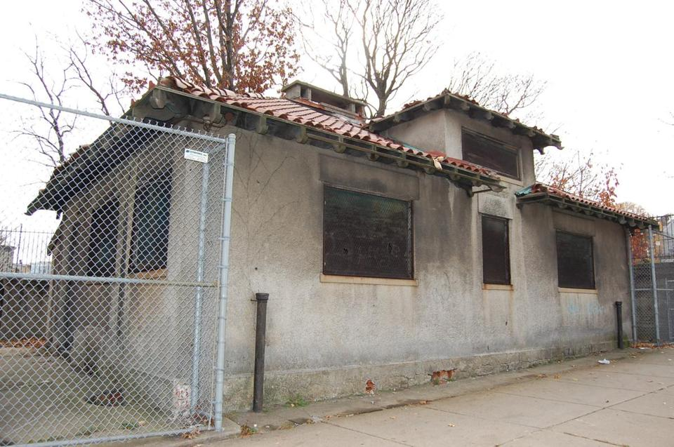 The abandoned Uphams Corner Comfort Station is slated to be renovated into a cafe and bike repair shop.