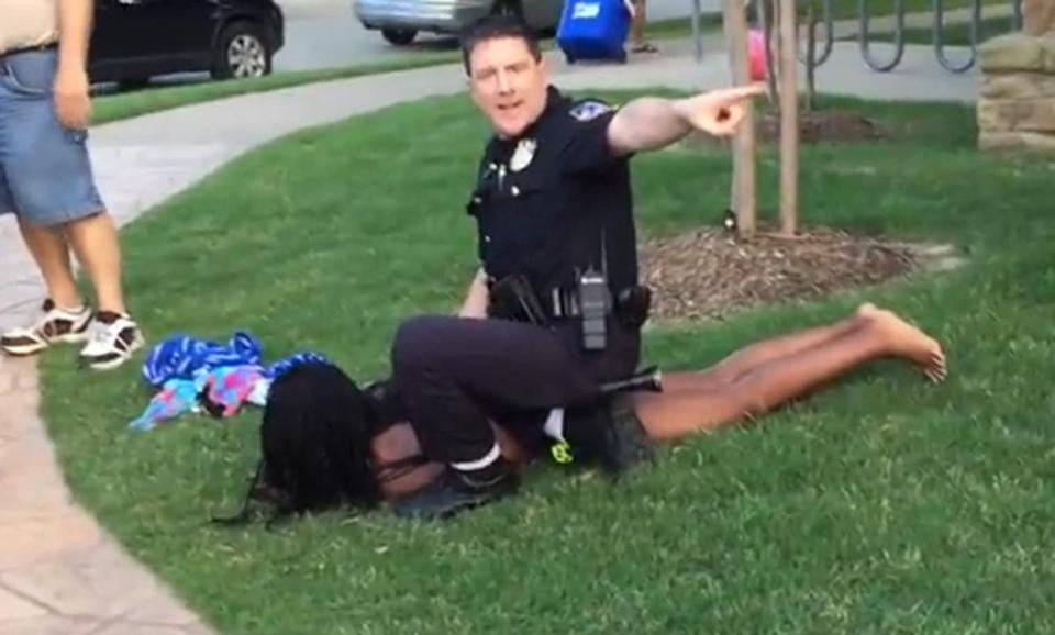 Mckinney Texas Police Incident Judging Officers In The