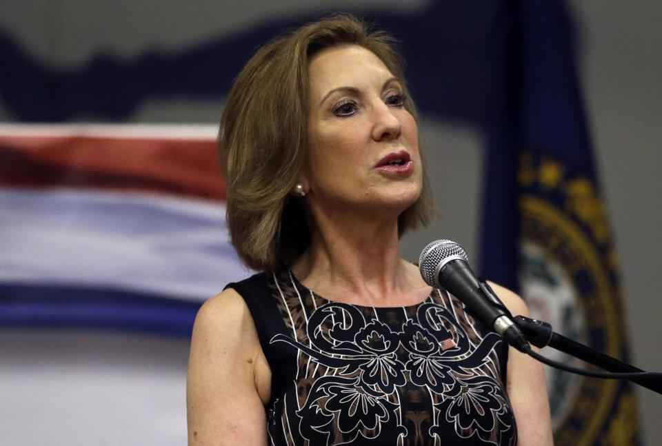 If ther debate were held today, it would likely not include former Hewlett Packard CEO Carly Fiorina, among others.