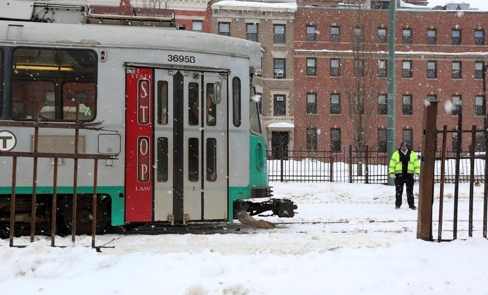 Among the items funded by the MBTA in the coming fiscal year is work on extending service by Green Line trolleys to Somerville and Medford.