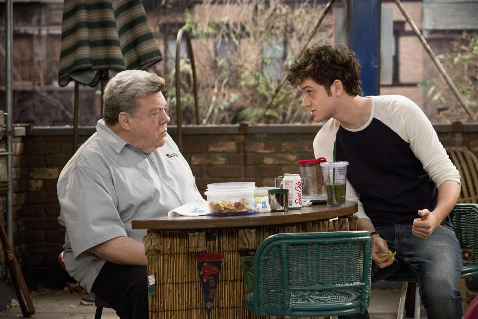 "George Wendt (left) and Mike Castle star in TBS's ""Clipped."""