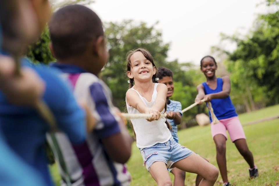 A balance of structured and less-structured time is important for kids in  summer.