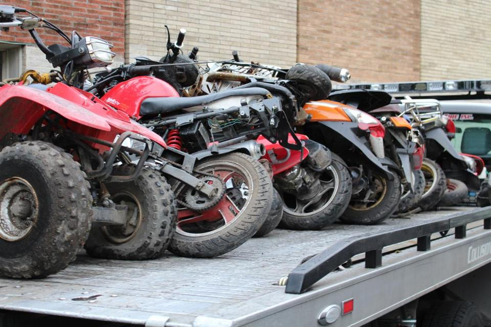 Walsh Seeks To Ban Atv Dirt Bike Stunts On City Streets The