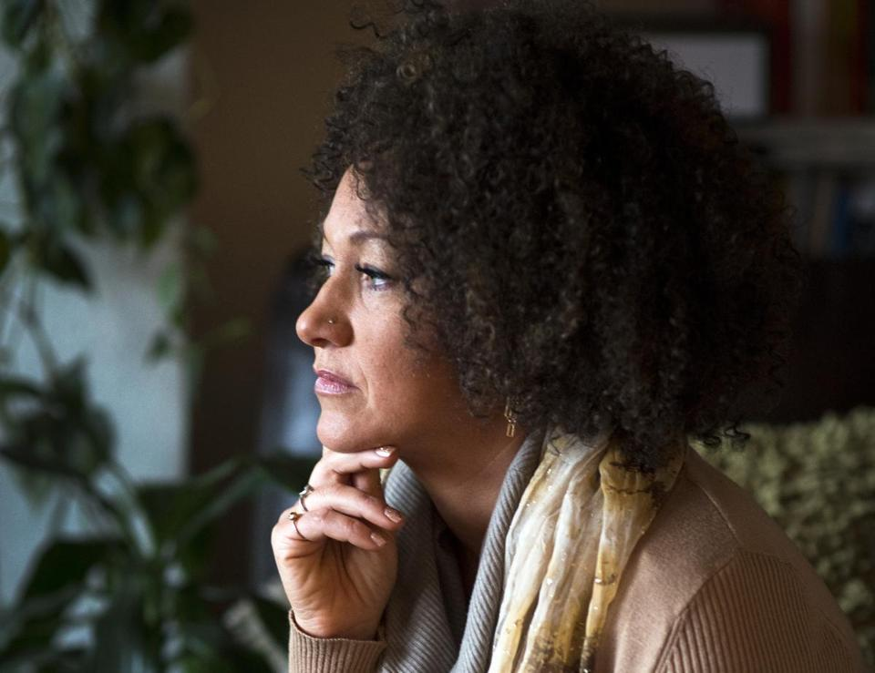 Rachel Dolezal, president of the Spokane chapter of the NAACP, is facing questions about her racial identity.