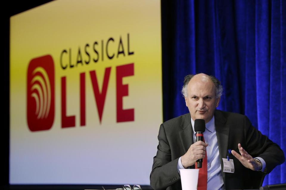 Mark Volpe, managing director of the Boston Symphony Orchestra, spoke Monday about the launch of a new classical music initiative through Google Play Music.