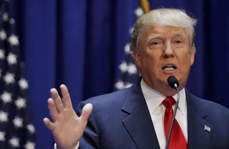 Donald Trump formally announced his campaign for the 2016 Republican presidential nomination.