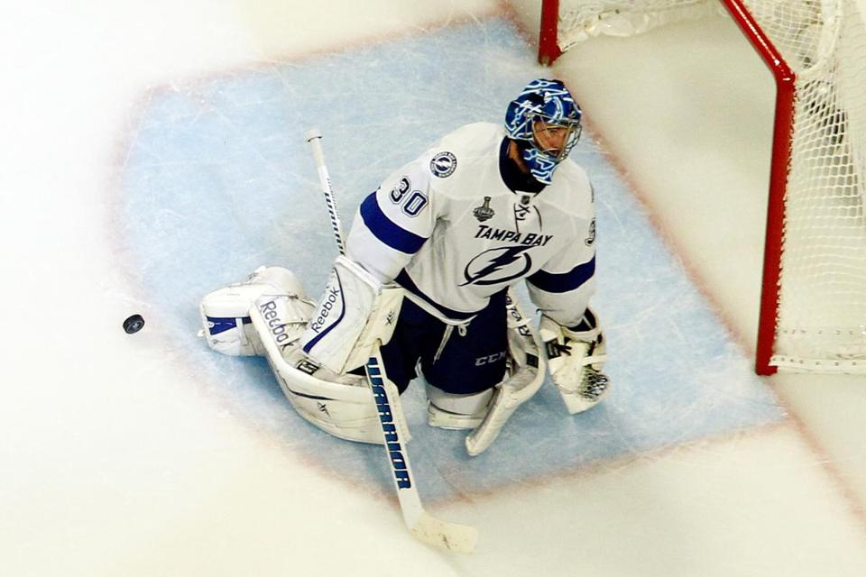 Ben Bishop posted a .939 save percentage in Games 3, 5, and 6.